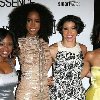 Naturi Naughton, Kelly Rowland, Jeanette Jenkins, Anika Noni Rose in 5th Annual ESSENCE Black Women in Hollywood Luncheon
