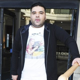 Naughty Boy at The Sunday Brunch Studios