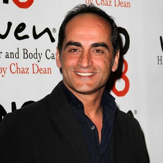 Navid Negahban in NOH8 Celebrity Studded 4th Anniversary Party - Arrivals