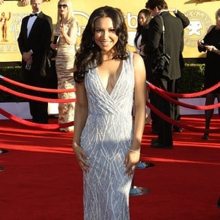 Naya Rivera in The 18th Annual Screen Actors Guild Awards - Arrivals