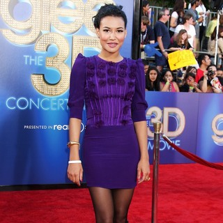 Naya Rivera in The World Premiere of Glee The 3D Concert Movie - Arrivals