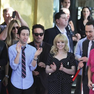 Kaley Cuoco Honored with A Star on The Hollywood Walk of Fame