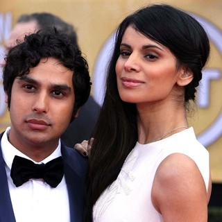 Kunal Nayyar, Neha Kapur in 19th Annual Screen Actors Guild Awards - Arrivals