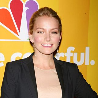 Becki Newton in 2010 NBC Upfront Presentation