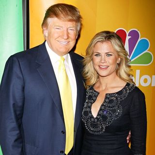 Donald Trump, Alison Sweeney in 2010 NBC Upfront Presentation
