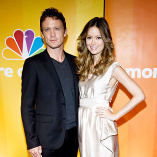 David Lyons, Summer Glau in 2010 NBC Upfront Presentation