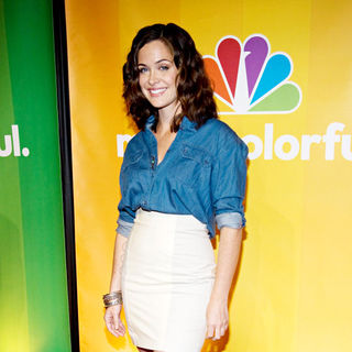 Christine Woods in 2010 NBC Upfront Presentation - nbc_upfronts_04_wenn2849878
