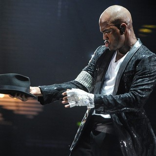 Ne-Yo in Michael Jackson Tribute Concert Held at The Cardiff Millenium Stadium