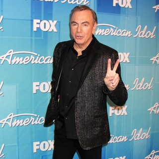 Neil Diamond in American Idol Season 11 Grand Finale Show - Press Room