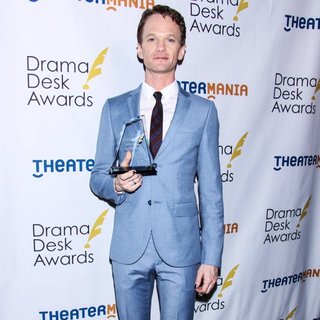 Neil Patrick Harris in 2014 Drama Desk Awards - Press Room