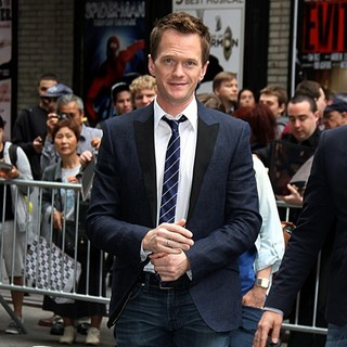 Neil Patrick Harris in Celebrities Arriving for The Late Show with David Letterman
