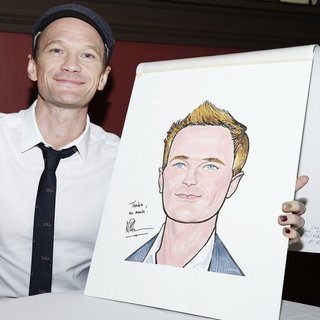 Neil Patrick Harris in Neil Patrick Harris' Portrait Unveiling at Sardi's Restaurant