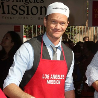 Neil Patrick Harris in The Los Angeles Mission's Thanksgiving for Skid Row Homeless