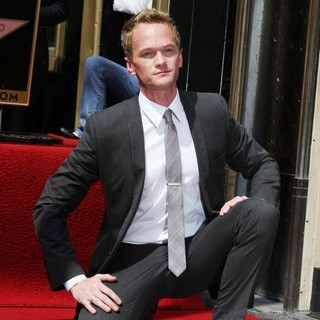 Neil Patrick Harris in Neil Patrick Harris Hollywood Walk of Fame Induction Ceremony