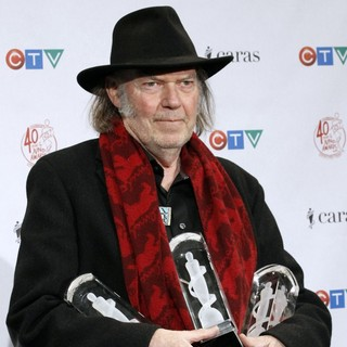 Neil Young in The 2011 JUNO Awards - Press Room