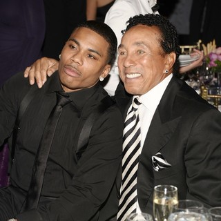 Nelly, Smokey Robinson in The Angel Ball 2012