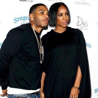 Nelly and Kelly Rowland at Drai's Nightclub
