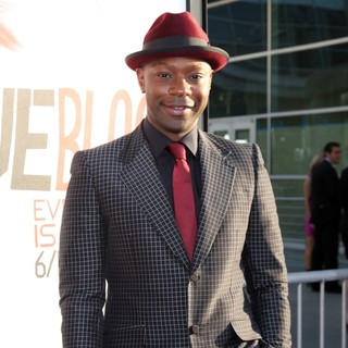Nelsan Ellis in Los Angeles Premiere for The Fifth Season of HBO's Series True Blood - Arrivals