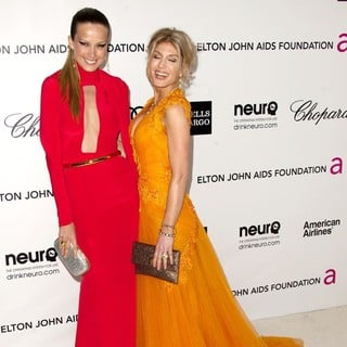 Petra Nemcova, Hofit Golan in The 20th Annual Elton John AIDS Foundation's Oscar Viewing Party - Arrivals