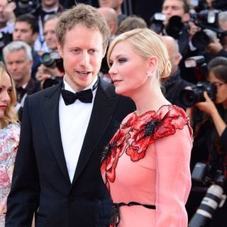 Laszlo Nemes, Kirsten Dunst in 69th Cannes Film Festival - Opening Night Gala and Cafe Society Premiere - Arrivals