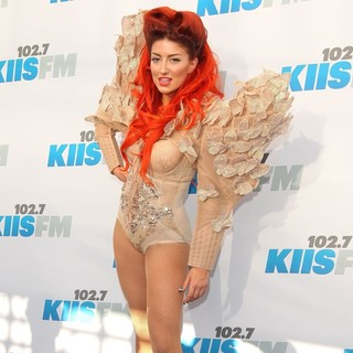 Neon Hitch in 102.7 KIIS FM's Wango Tango 2012 - Arrivals