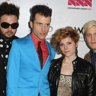 Neon Trees in LOGO's 2012 NewNowNext Awards - Backstage