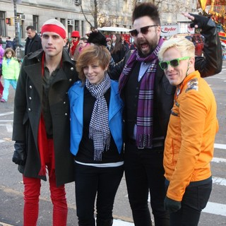 Neon Trees in 86th Annual Macy's Thanksgiving Day Parade