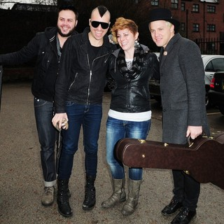 Neon Trees in Neon Trees Arrives at 103 Radio Station
