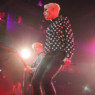 Chris Allen, Tyler Glenn, Neon Trees in Neon Trees Performing at The Nylon Summer Music Tour