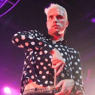Tyler Glenn, Branden Campbell, Neon Trees in Neon Trees Performing at The Nylon Summer Music Tour