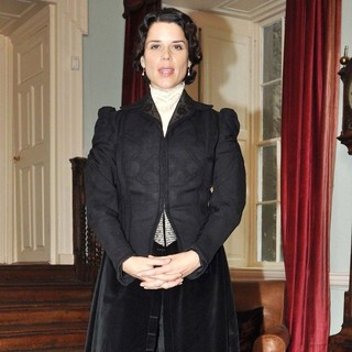 Neve Campbell in Photocall on The Set of The TV Series Titanic: Blood and Steel - neve-campbell-photocall-titanic-blood-and-steel-02
