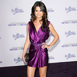 "Selena Gomez in Los Angeles Premiere of ""Justin Bieber: Never Say Never"""