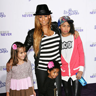 "Melanie Brown in Los Angeles Premiere of ""Justin Bieber: Never Say Never"""