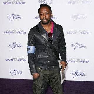 "will.i.am in Los Angeles Premiere of ""Justin Bieber: Never Say Never"""