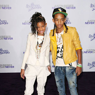 "Willow Smith, Jaden Smith in Los Angeles Premiere of ""Justin Bieber: Never Say Never"""