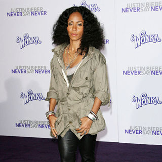 "Jada Pinkett Smith in Los Angeles Premiere of ""Justin Bieber: Never Say Never"""