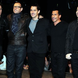 New Kids On The Block in New Kids On The Block, 98 Degrees, Boyz II Men Announce The Package Tour