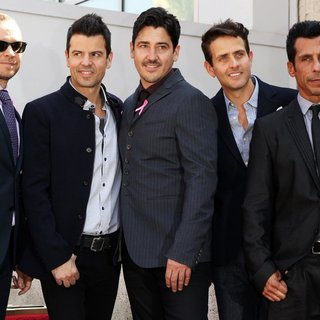 New Kids On The Block - New Kids On The Block on The Hollywood Walk of Fame