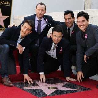 New Kids On The Block in New Kids On The Block on The Hollywood Walk of Fame