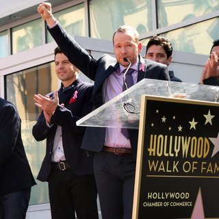 New Kids On The Block on The Hollywood Walk of Fame