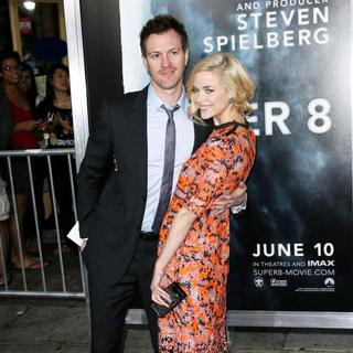 Kyle Newman, Jaime King in Los Angeles Premiere of Super 8
