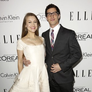 Joanna Newsom, Andy Samberg in ELLE 20th Annual Women in Hollywood Celebration