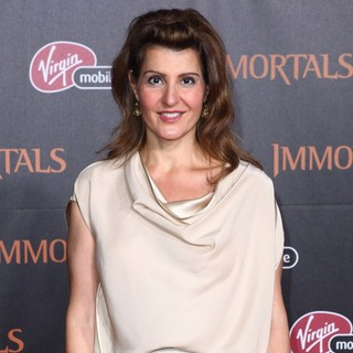 Nia Vardalos in Immortals 3D Los Angeles Premiere