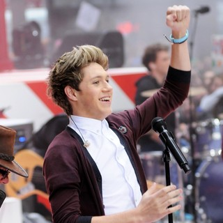 Niall Horan, One Direction in One Direction Performing Live on The Today Show
