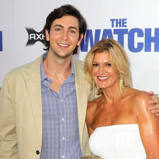 Nicholas Braun in Los Angeles Premiere of The Watch