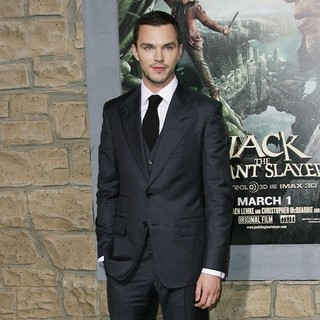 Nicholas Hoult in Premiere of Jack the Giant Slayer