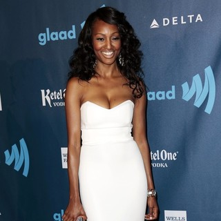 Nichole Galicia in 24th Annual GLAAD Media Awards - Arrivals
