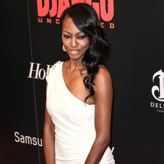 Nichole Galicia in The Premiere of Django Unchained