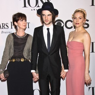 Phoebe Nicholls, Tom Sturridge, Sienna Miller in The 67th Annual Tony Awards - Arrivals