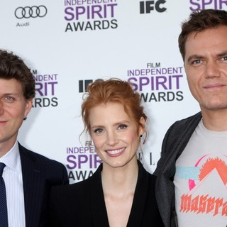 Michael Shannon in 27th Annual Independent Spirit Awards - Arrivals - nichols-chastain-shannon-27th-annual-independent-spirit-awards-01